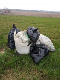 Odpadky sekupily..