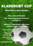 Plakát KLADERUBY CUP 2021