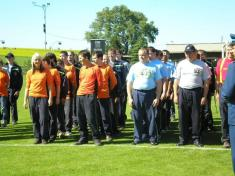 Účast hasičů na 110. oslavách založení SDH Mohelno